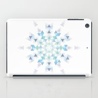 snowflake iPad Cases featuring Snowflake by Lucien N.