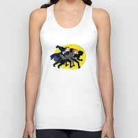 mulder Tank Tops featuring Great Snakes, Mulder. by Anna Valle