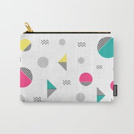 Geometria pattern Carry-All Pouch