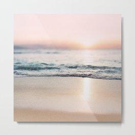 Sunset Shoreline Metal Print