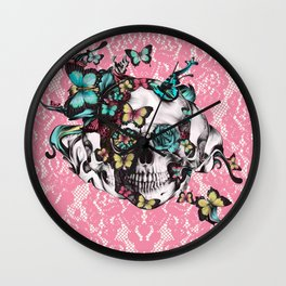 Candy coated.  Wall Clock