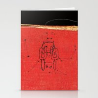 radiohead Stationery Cards featuring Radiohead - Amnesiac by NICEALB