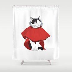Lista para la lluvia Shower Curtain