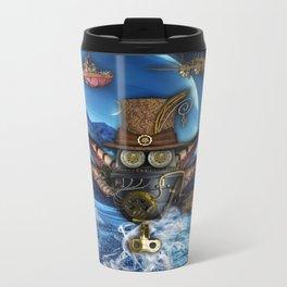 Steampunk Mechanics Metal Travel Mug