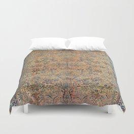 Kashan Floral Persian Carpet Print Duvet Cover