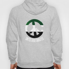United Arab Emirates Peace Sign T-Shirt Hoody