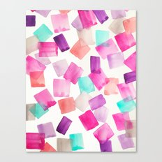 Confetti Gems | Print from original watercolor painting Canvas Print