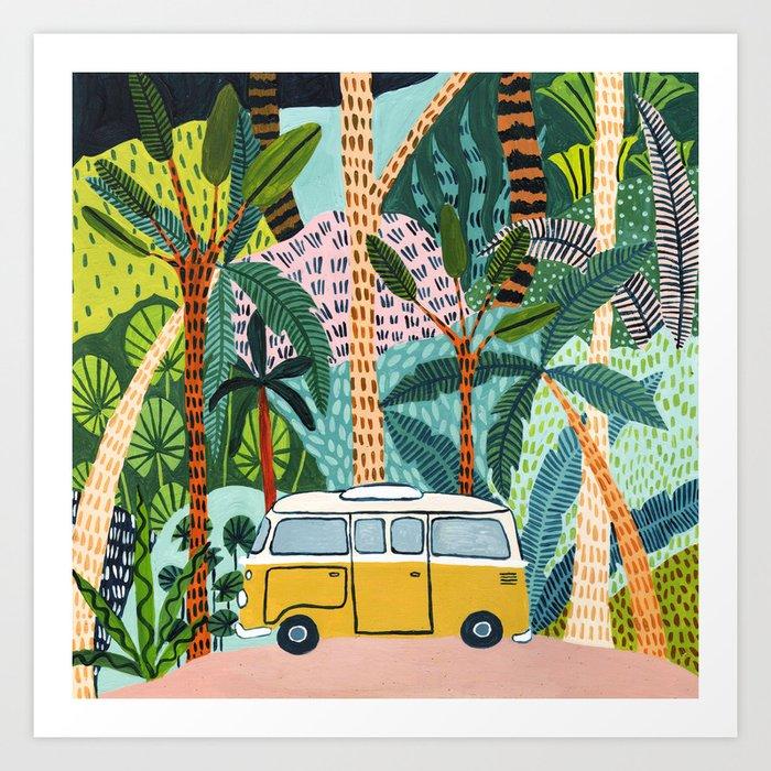 Jungle Camper Kunstdrucke