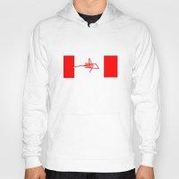 canada Hoodies featuring Canada by StazKnak