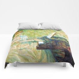 """Henri de Toulouse-Lautrec """"Misia Sert"""" Comforters"""