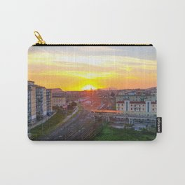 Fuorigrotta quarter at sunset Carry-All Pouch