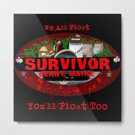 Survivor Derry Metal Print