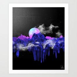 TERRAFORMING Art Print