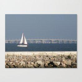 Sail Lisboa Canvas Print