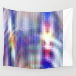 blue rhombus Wall Tapestry
