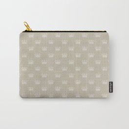 Mini George Grey with Pale Grey Crowns Carry-All Pouch