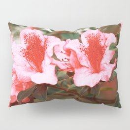 Azaleas blooming Pillow Sham