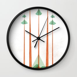 3Lives - Plant Wall Clock