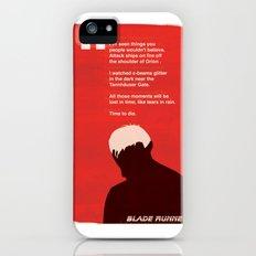 BLADE RUNNER TEARS IN RAIN Slim Case iPhone (5, 5s)
