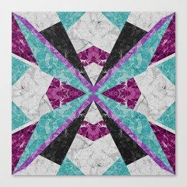 Marble Geometric Background G443 Canvas Print