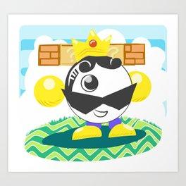 King Boh-bomb Art Print