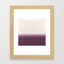 Calm - Abstract Landscape Framed Art Print