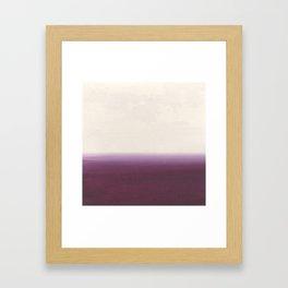 Calm - Abstract Landscape Framed Art Print