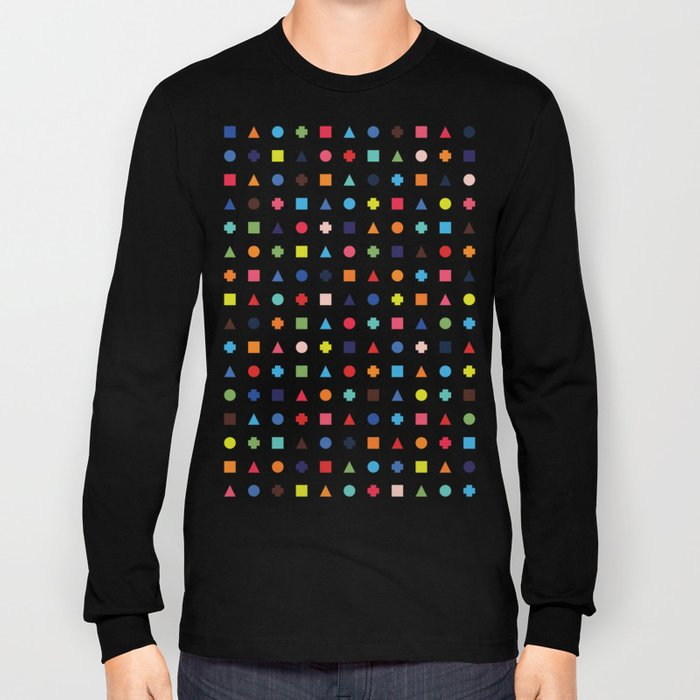 Dot Triangle Square Plus Repeat Long Sleeve T-shirt