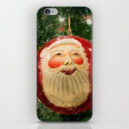 Here Comes Santa Claus iPhone Skin