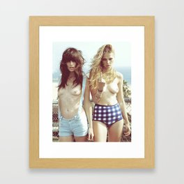 JUKE II Framed Art Print