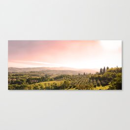 Beautiful tuscan landscape Canvas Print