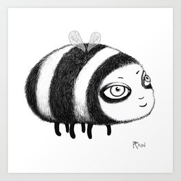 Fly, Bumblebee, Fly! Art Print
