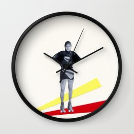 Roller Disco Wall Clock