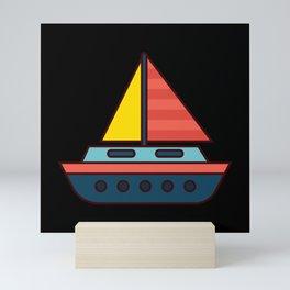 SAILING SHIP KIDS SAILING CREW Gift Sailor Sailing Mini Art Print