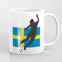 sweden Mugs featuring Sweden - WWC by Alrkeaton