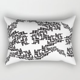 Aztec Movement Rectangular Pillow