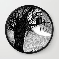 Lonely Robot Wall Clock