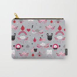 Bloody Family pattern Carry-All Pouch