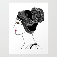 Helen of Troy Art Print