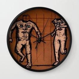 the blemmyes' dilemma Wall Clock