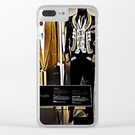 Stevie Ray Vaughan Exhibit - Family Style - Painting Clear iPhone Case