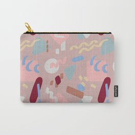 Postmodern Party in Blush Carry-All Pouch