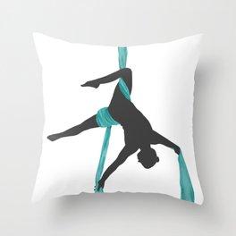 Aerial Silks Throw Pillow