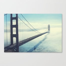 The Gates are golden Canvas Print
