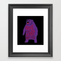 Arise and Devour Much Flesh Framed Art Print