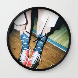 FISH BOWL Wall Clock