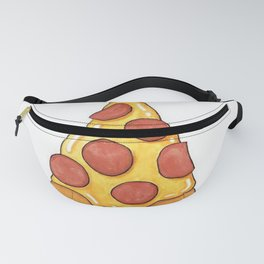 Pizza Christmas Tree Fanny Pack