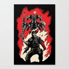Hellboss Canvas Print