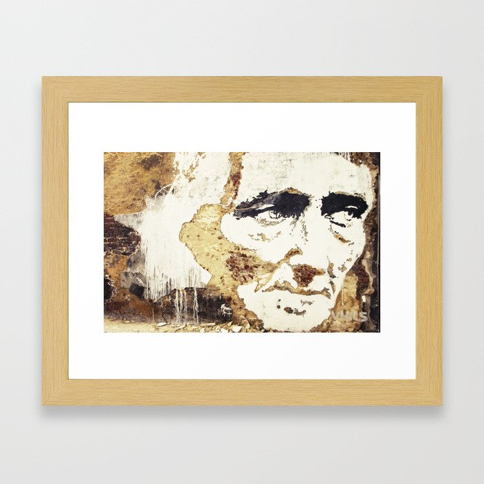 Decay of Age Framed Art Print
