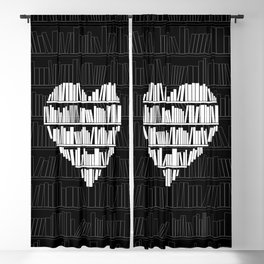 Book Lover Blackout Curtain